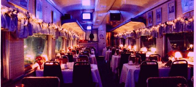 Meals will be served starting this fall in this dining car at the Midland Railway with the planned relocation of a Fremont, Neb., dinner train restaurant to the Baldwin City excursion line.