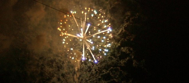 The Fourth of July will see a community fireworks display in Baldwin City after a two-year absence.
