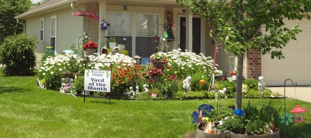 Ellen Green's yard.