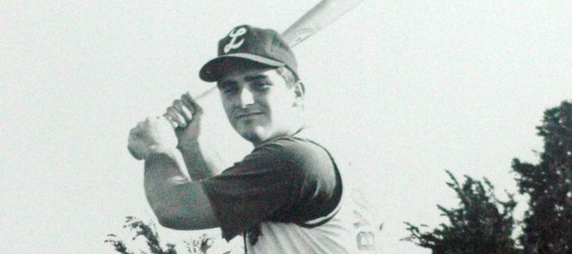 Phil Thomas, a 1966 Tonganoxie High grad, was one of the state's top baseball prospects in his high school days.
