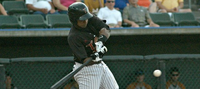 Enrique Cruz and the T-Bones entered Tuesday just 3.5 games behind Wichita in the division standings.