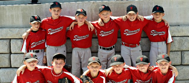 The Tonganoxie Slammers took third at the Sunflower State Games July 14-15 in Topeka.