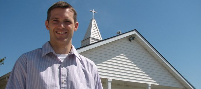 The Rev. Jay Lickey is the pastor of Open Door Fellowship, a new Basehor church at 14308 Fairmount Road that starts services Aug. 5.