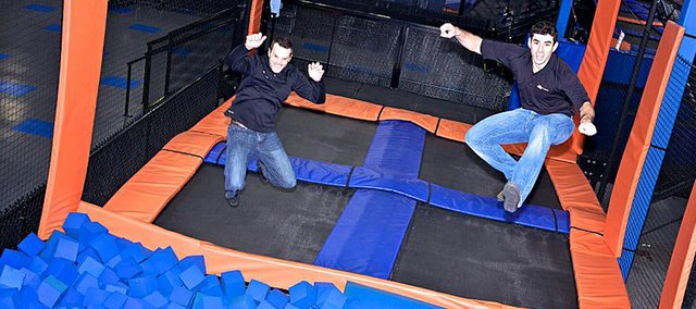 A Sky Zone Indoor Trampoline Park is scheduled to open in Shawnee in late August or early September.