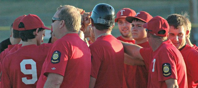 The Tonganoxie American Legion baseball team went 14-22 this season.