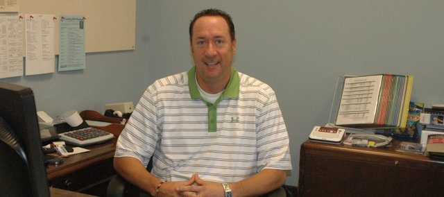 Eric Hansen joined Bonner Springs-Edwardsville USD 204 in July as the new human resources and business manager.