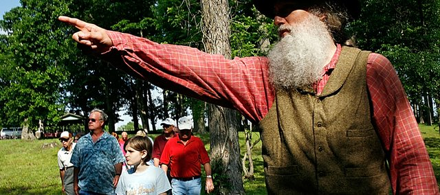 Kerry Altenbernd may soon be giving tours as John Brown at a national historic landmark site with the Black Jack Battlefield needing only the signature of U.S. secretary of interior to gain that recognition.