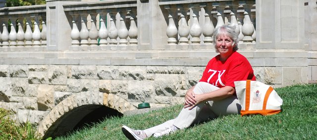 Melinda Hipple is returning to college this semester after 40 years. The former night shift convenience store clerk has a lot of friends on the Baker University campus because of her work at Kwik Shop and as a fraternity house mother.
