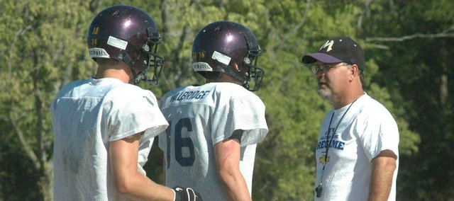 Coach Chris Stewart will open his fifth season with McLouth Friday against Nemaha Valley.