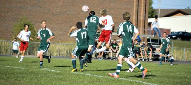Tonganoxie High earned a 2-1 victory Thursday at Basehor-Linwood. Play was stopped due to a first-half altercation, which resulted in the ejection of three players and multiple fans.