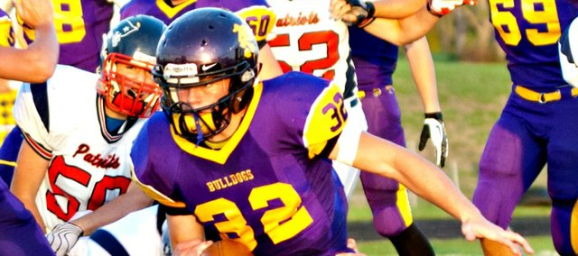 T.J. Crowell scored four touchdowns in McLouth's 42-7 win Friday against Christ Prep.