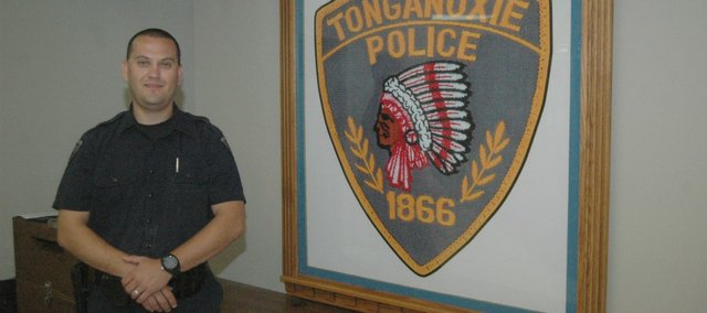 Billy Naff  of the Tonganoxie Police Department recently was selected to attend the Federal Bureau of Investigation National Academy.