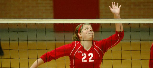 Junior Katelyn Waldeier and the Tonganoxie High volleyball team went 2-3 and finished seventh at the Tonganoxie Invitational.