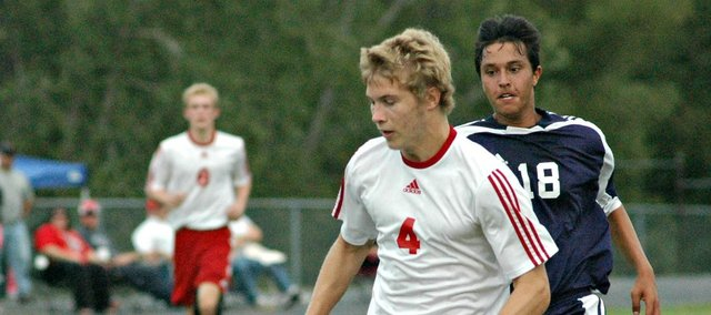 Asher Huseman had five goals in Tonganoxie's 10-0 win Monday against Eudora.