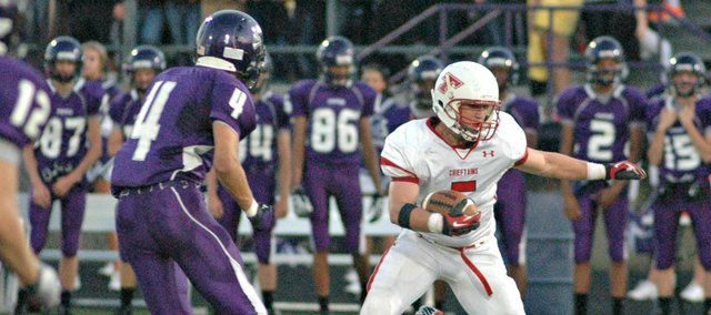 Shane Levy will be back on the field on Friday when Tonganoxie High plays host to Bishop Ward at Beatty Field.