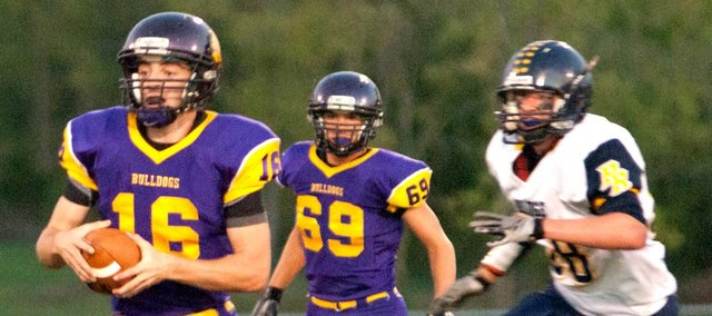 Marc Walbridge threw for 360 yards and six touchdowns in McLouth's 47-20 win against Pleasant Ridge.