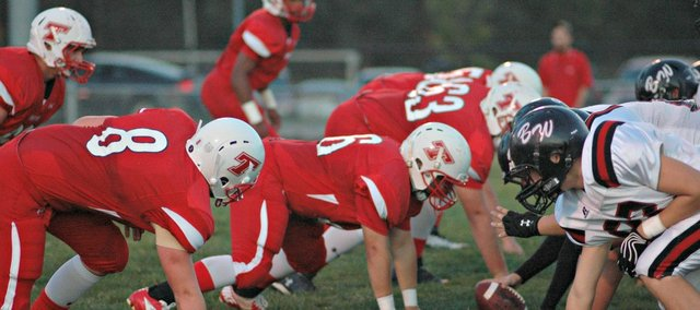 The Tonganoxie High defense will likely face a stiff test tonight at Turner.