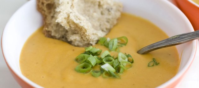Creamy Chipotle Carrot Soup