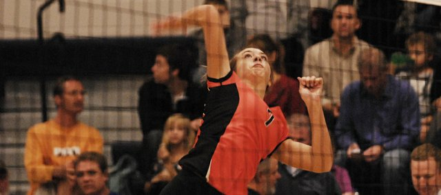 BSHS senior Haley Hoffine led the Braves with seven kills in a 3-0 loss at Mill Valley (19-25, 8-25, 14-25) on Tuesday.