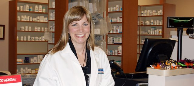 Holly Sebree-Gripka has taken over as the new owner of The Medicine Store in Basehor. She has been the pharmacist there since it opened in 2008.