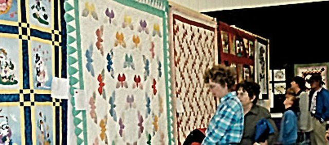 There's a lot to see at the Maple Leaf Quilt Show, which will have 100 works on display.
