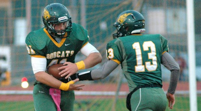 Drew Potter led Basehor-Linwood with 96 rushing yards, but the Bobcats saw their season come to an end Thursday with an 18-11 loss to Tonganoxie.