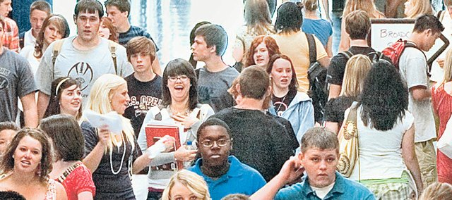 "Students clad mainly in jeans and T-shirts crowd the halls at Mill Valley High School. Nowadays, students are expressing themselves through skinny jeans and duct tape while they hungrily wait for the next film installment in ""The Hunger Games"" series."