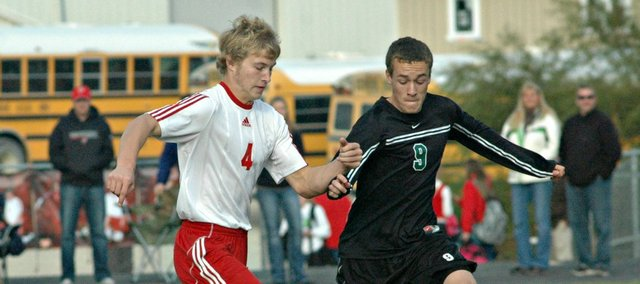 Sophomore Asher Huseman when the Tonganoxie High soccer team makes its first-ever state semifinal appearance on Friday.