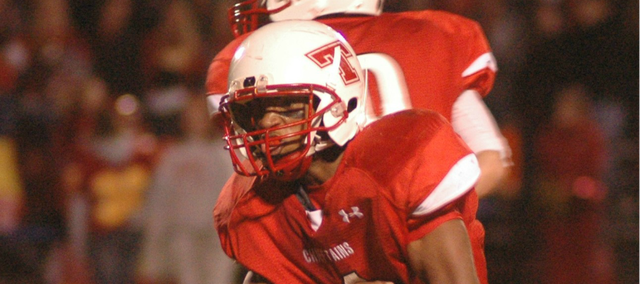 Cole Holloway will look for another big rushing performance when Tonganoxie High travels Saturday to Eudora.