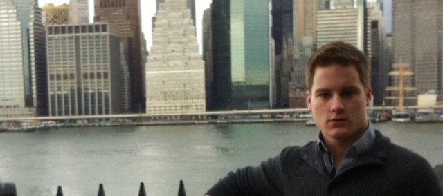 Michael Christensen, a 2012 Tonganoxie High School graduate, lives in New York City.