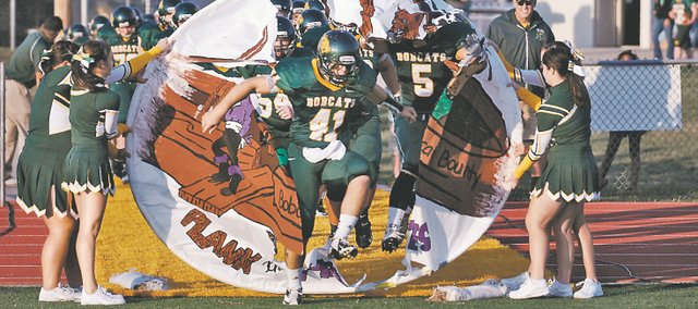 BLHS senior Drew Potter led the Bobcats with more than 1,000 yards rushing and 15 touchdowns. Basehor-Linwood finished shy of the playoffs at 4-5.