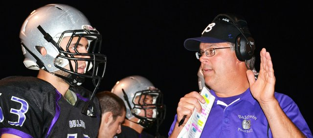 Baldwin High School football coach All-America center at Baker