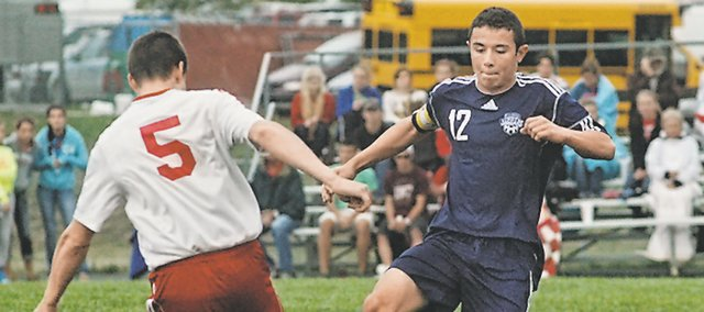 MVHS junior midfielder Jack Lopez earned a first-team selection on this season's All-Kaw Valley League team.
