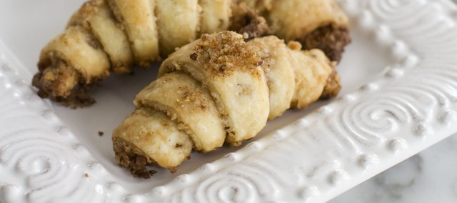 You don’t have to be Jewish or celebrate Hanukkah to love these cinnamon-pecan rugelach.