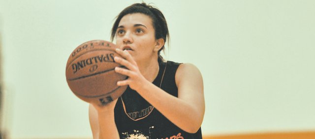 SMNW senior Anna King is ready to take the court again after an ACL tear ended her junior season before it could even begin.