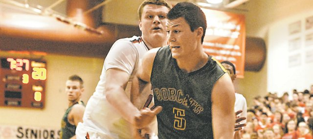 BLHS senior Ben Johnson will sit out until at least after winter break, resting and rehabbing a sore knee that has bothered him since last season. Johnson averaged nearly 10 points and five rebounds per game last season.