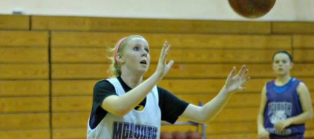 McLouth sophomore Angela Dailey is one of five returning players with varsity experience.