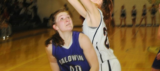 Katie Kehl returns for her senior season for the Baldwin Bulldogs, providing a post presence for the team and joining a group of experienced players.