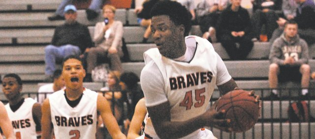BSHS senior Tyler Howell led the Braves with 12 points in Tuesday's victory.