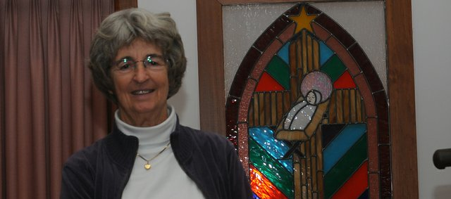 The Rev. Shirley Edgerton of Vinland United Methodist Church says she leads a very active congregation. Hers in one of four United Methodist churches in the Baldwin City area with active outreach ministries.   