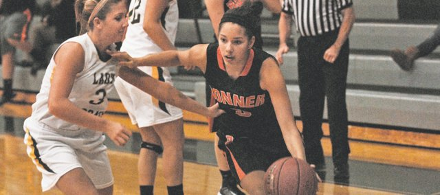 BSHS freshman Julianne Jackson scored all of her team-high 11 points in the second half of the Braves&#39; 46-39 victory against Piper on Tuesday.
