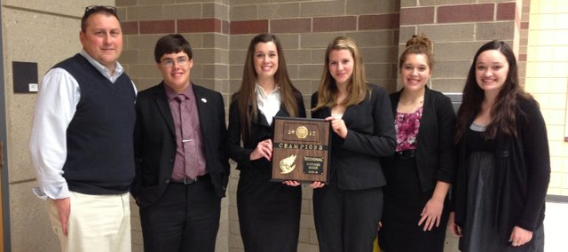 The Tonganoxie High School four-speaker debate team took first at the regional tournament and now will advance to state, which will take place in January in Tonganoxie. This marks the 20th consecutive year the squad has advanced to the state tournament.