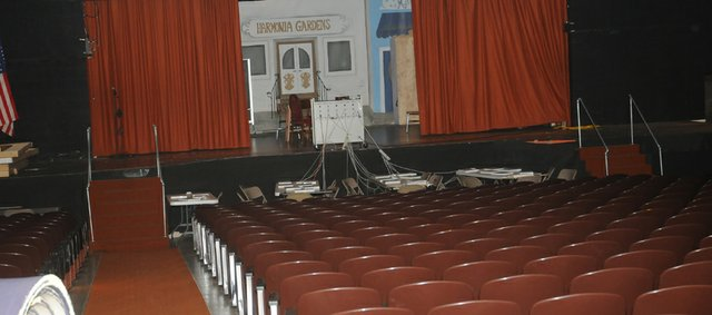 The Baldwin school board agreed Monday to develop plans for the reuse of the junior high school auditorium, which will include a large multipurpose room.