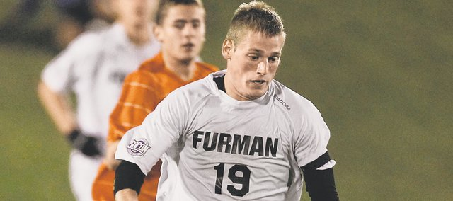 Coleton Henning, a Shawnee native and St. Thomas Aquinas alum, was one of 54 Division I seniors invited to January's Major League soccer combine following his career at Furman University in South Carolina.