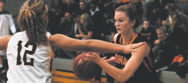 BSHS senior Anna Deegan missed just one game after rehabbing an ACL tear and is leading the Braves in scoring with 16.2 points per game, including a 30-point effort on Dec. 14.