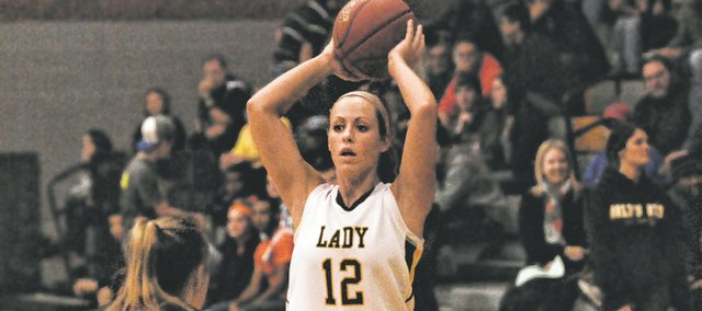 BLHS junior Amber Garver scored 16 points in a season-opening victory against Bishop Ward, scoring 14 points in the first quarter.