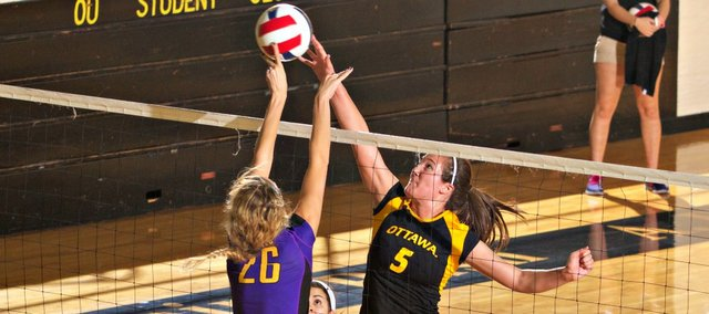 Tonganoxie High grad Chrissie Jeannin was recently named an NAIA All-American at Ottawa University.