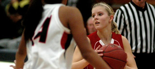 Madee Walker has helped the Tonganoxie High girls to a 4-0 start to the season.