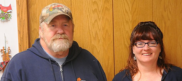 Baldwin City Public Works employees Gary Murray and Tamara Hagerman were named Baldwin City government's Outstanding Achievers for 2012 by a vote of city supervisory staff.