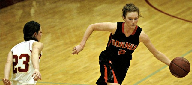 Anna Deegan had 13 points in Bonner Springs' win Tuesday at Tonganoxie.